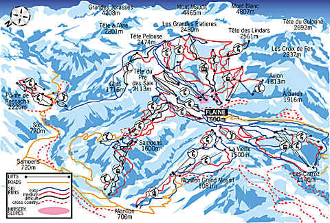 Good Skiing Flaine France Ski Details