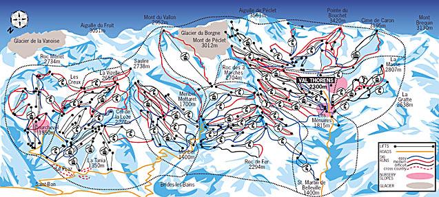 Good Skiing Val Thorens France Ski Details