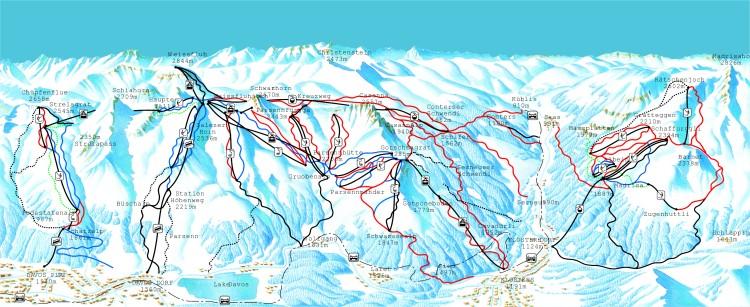 Good Skiing Davos Switzerland Ski Details